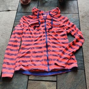 Lukka Fitted Neon Pink Workout Hoodie with Pockets